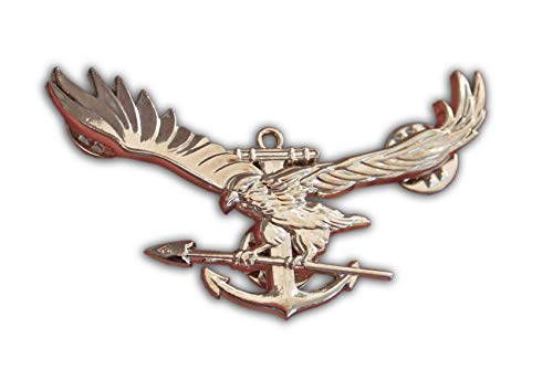 Eillwin US Navy Seals glanzend Metall Abzeichen Military Gift & Collectable Brosche Edel Geschenk Silber Farbe Us-navy