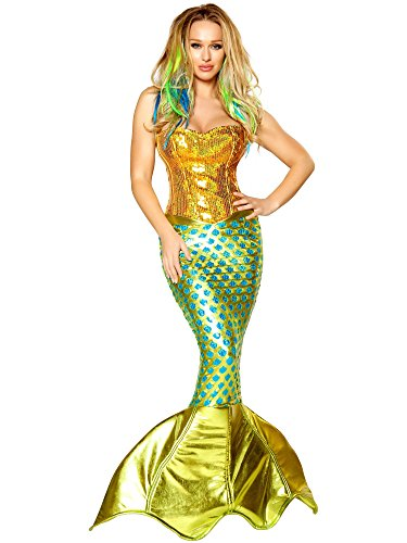 Womens Siren of the Sea Fancy dress costume (Kostüme Siren Sea)