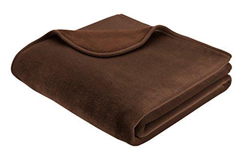 bhome-150-x-200-cm-biederlack-de-luxe-blanket-throw-brown