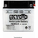 Batterie Moto Kyoto Yb16cl-b L 175mm W 100mm H 175mm 12v 19ah Acide 1,18l