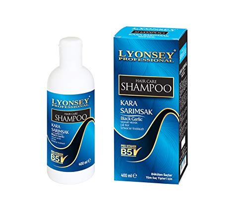 SCHWARZE KNOBLAUCH Shampoo - BLACK GARLIC SHAMPOO - KARA SARIMSAK Şampuan - 400ml gegen intensiven Haarausfall Wunder Shampoo -
