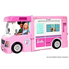 Barbie GHL93 3-in-1 DreamCamper Vehicle and Accessories