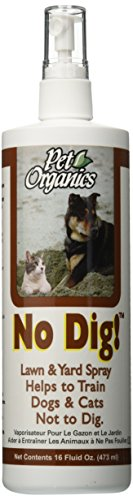 NaturVet/Pet Organics No Dig Lawn and Yard Spray, 473 ml