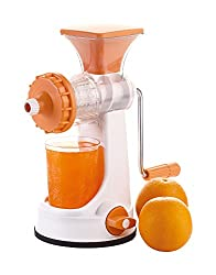 Slings Pratic Plastic Fruit and Vegetable Juicer with Steel Handle (Color May Vary)