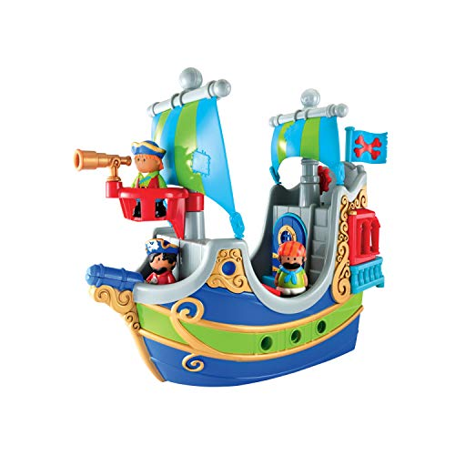 Early Learning Centre 148426 - HAPPYLAND Piratenschiff, Mehrfarbig