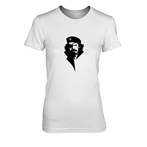 n T-Shirt, Größe: XL, Farbe: weiß (Metal Gear Solid 3 Big Boss Kostüm)