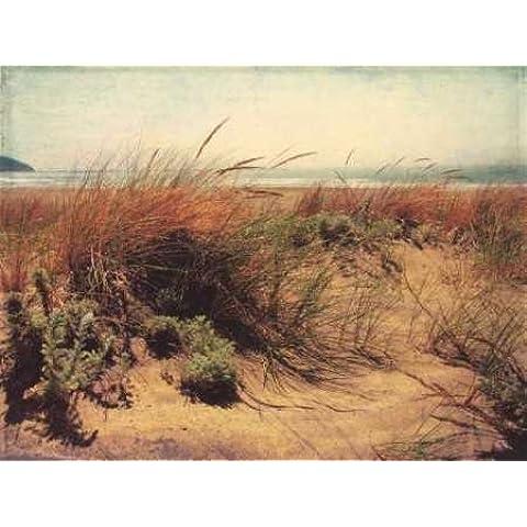 Feelingathome.it, STAMPA SU TELA 100% cotone INTELAIATA Sand Dunes I cm 82x108 (dimensioni personalizzabili a richiesta)