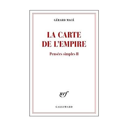 Pensées simples (Tome 2) - La carte de l'empire (Blanche)