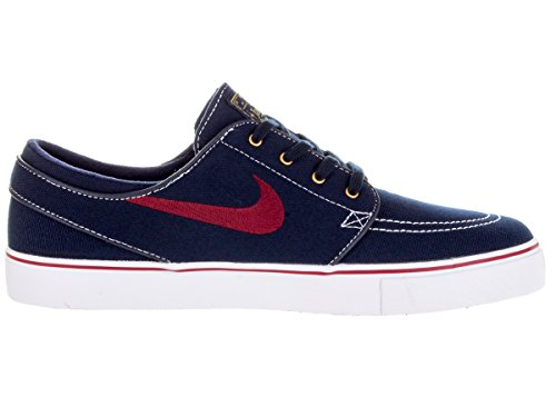 Nike , Baskets pour homme taille Multicolore - Negro / Rojo / Blanco / Amarillo (Obsidian / Tm Rd-White-Mtllc Gld-)