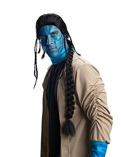 Avatar Jake Sully Perücke schwarz