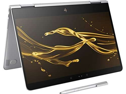 "2017 HP Spectre x360-13t Stylus(Intel i7-7560U, FHD, Windows 10 Windows Ink) 2-in-1 13.3"" Tablet Convertible Kaby Lake Touchscreen Bang & Olufsen Thunderbolt PC (16GB RAM 256GB SSD 7560U)"