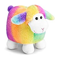 Mousehouse Gifts 25cm Adorable Rainbow lamb / sheep Stuffed animal teddy soft toy