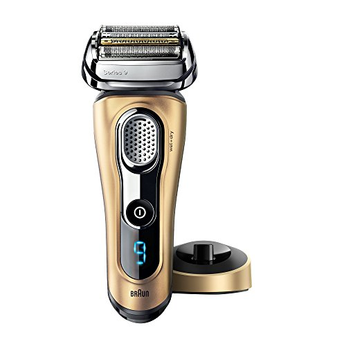 Braun Series 9 9299s Gold Edition Elektrorasierer mit Gitter für Herren, Wet and Dry