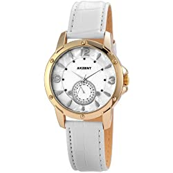 Akzent Damen-Armbanduhr Analog Quarz verschiedene Materialien SS8002000011