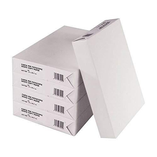 42757 set 5 risme di carta formato a4 500 fogli da 80 g eins universal copy. media wave store