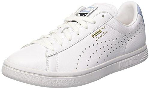 Puma Unisex-Erwachsene Court Star NM Sneaker, Weiß White-Cashmere Blue, 44.5 EU -