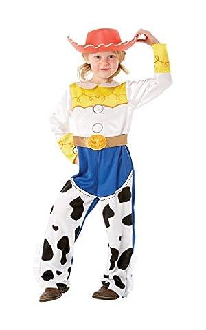 Disney Toy Story Jessie - Costume de deguisement - avec Chapeau - pour Enfant - 5-6 ans