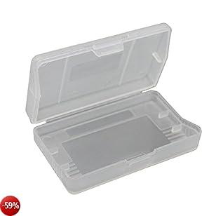 iMinker Copertura antipolvere di plastica trasparente Gioco di Carte Cartuccia di immagazzinaggio della cassa della scatola per Gameboy Advance SP, GBA SP, GBM (10 pezzi)