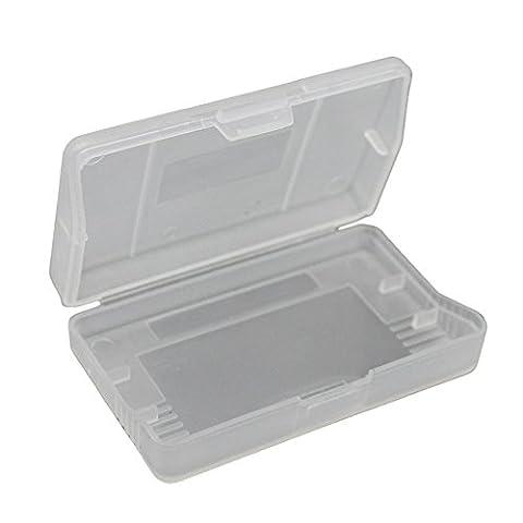 iMinker carte de jeu en plastique transparent de stockage de cartouches de cas boîte de couverture de poussière pour Gameboy Advance SP, GBA, GBA SP, GBM (10 pièces)