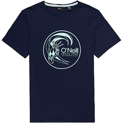 O'Neill Herren LM Circle Surfer T-Shirt, Blau (Ink Blue), XL