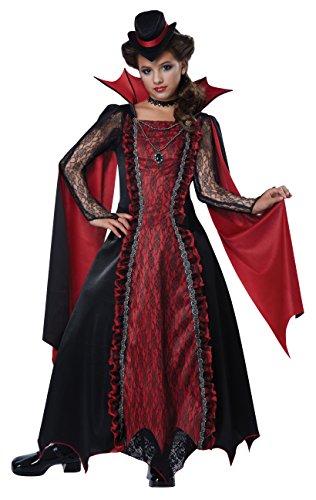 California Costumes Victorian Vampira Child Costume XL
