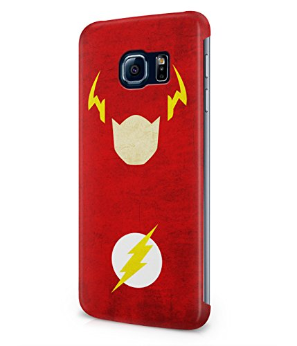 The Flash Justice League Superhero Comics Plastic Snap-On Case Cover Shell For Samsung Galaxy S6 EDGE