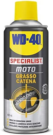 WD-40 Specialist Moto - Grasso Catena Moto Spray - 400 ml