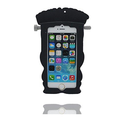 "Apple iPhone 5 (4.0"") Hülle, [flexible durable TPU Entschen, Einhorn, unicorn] rückseitige Handy für iPhone 5G, SE, 5C, iPhone 5S Case, Anti-Beulen, Fingerabdrücke, Kratzer color 4"