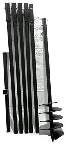 MWS-Apel 200 mm 6 meter Erdbohrer Brunnenbohrer Handerdbohrer Erdlochbohrer Brunnenbau Pfahlbohrer brunnenbohrgerät