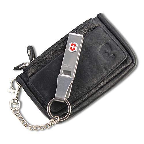 prezzo competitivo 3dc9a 6ffff Portamonete Piccolo e Custodia Pelle per le Chiavi Saccetto XL e RFID SKIMM  Protection