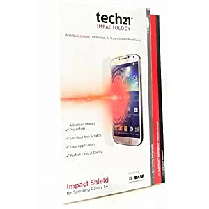 Simple Cell tech21 Impact Shield Anti-Scratch Screen Protector for Samsung Galaxy S4