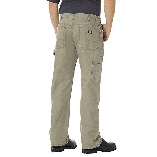 Denim Carpenter Jeans (Dickies Herren DU250 Relaxed Fit Lightweight Gerade Ente Carpenter Jean, 36W x 34L, Rinsed Desert Sand)