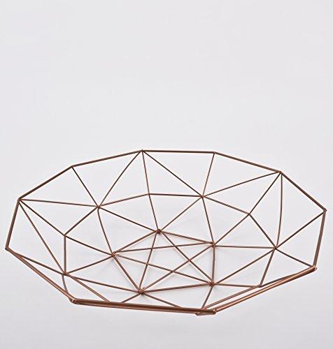 schale-rund-draht-design-metall-kupfer-deko-8x33x33cm