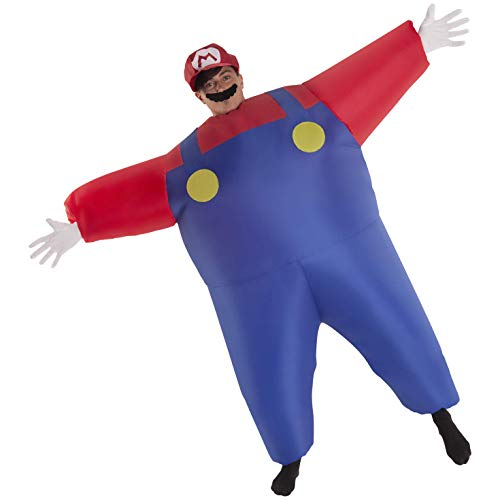Megamorph Giant Inflatable Mario Costume for Adults