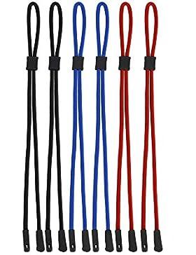 Cordones de Gafas Correa de Gafas de Sol Cuerda de Gafa Retenedor de Gafas para Deportes y Aire Libre