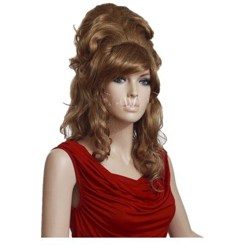 Perücke Lange Gewellte Amy Winehouse Natürliche Perücken Halloween Cosplay Party Kostüm Für Frauen