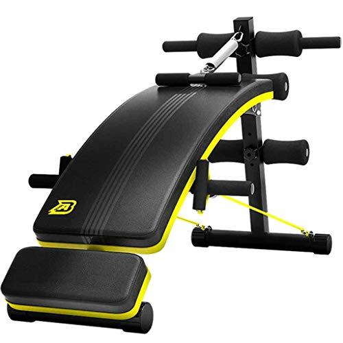 Sit-up Board Panchina Pieghevole Panca Regolabile Multifunzione Bench Pratica Muscoli Addominali In Palestra Per Allenamenti Completi