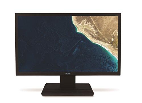 Acer V246HLBMD 60,6 cm (24 Zoll) Monitor (VGA, DVI, 5ms Reaktionszeit) schwarz