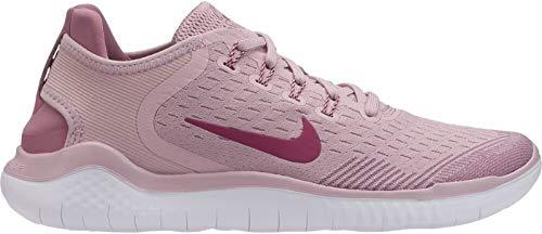 Nike Damen WMNS Free Rn 2018 Leichtathletikschuhe Mehrfarbig Chalk/True Berry/Plum Dust 500, 40.5 EU