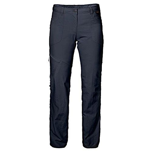 Jack Wolfskin Damen Marrakech aufrollbar Hose 48 Midnight Blue Elite Lightweight Pants