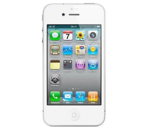 Apple Computer Apple iPhone 4 Smartphone 8GB (8,9 cm (3,5 Zoll) Touchscreen, Micro-Sim, 5 Megapixel Kamera, iOS 6) weiß