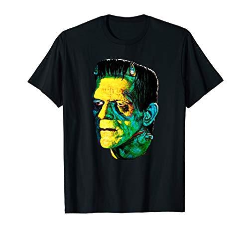 Karloff Frankenstein Monster Klassiker Horrorfilm-Fan T-Shirt