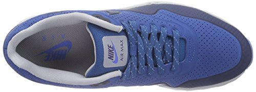 Nike - Air Max 1 Ultra Moire, Sneakers da uomo Brgd Bl/Mid Nvy-Wlf Gry-Dstnc