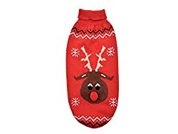 """Ancol Christmas Reindeer Dog Sweater Large 50cm / 20"""" from Ancol"""