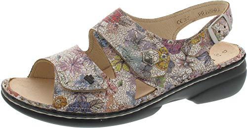 70679f6d52 Finn Comfort Sandalette, Sandales pour Femme Multicolore Multicolore -  Multicolore - Multicolore, 39 EU