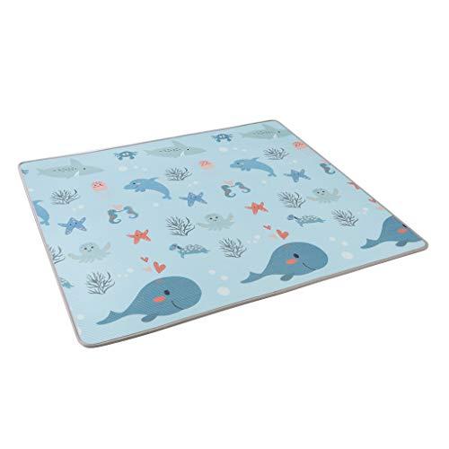 Suelo para bebes acolchado alta calidad resistente 180 cm x 120 cm (Modelo 1)