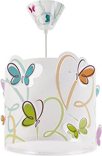 confronta il prezzo Dalber - Lampadario, soggetto: farfalle variopinte miglior prezzo