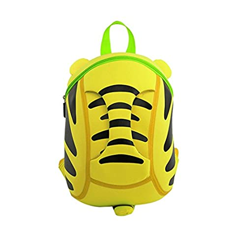 Nohoo 3D Cartoon Tigre Sac à Dos Enfant