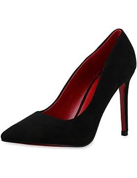Stilvolle Damen Pumps | Modische Akzente durch spitze Schuhform & Lack | Party oder Business