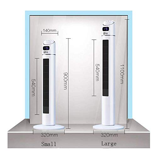 MU Home Wohnzimmer Schlafzimmer Lüfter-Lüfter-Turm, 40 W, 50 Hz, 3-Gang, blattlos,Mechanisches Modell (groß) -